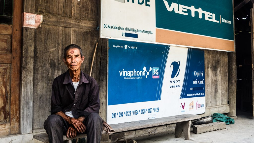 Rural Vietnam, sponsored by Viettel