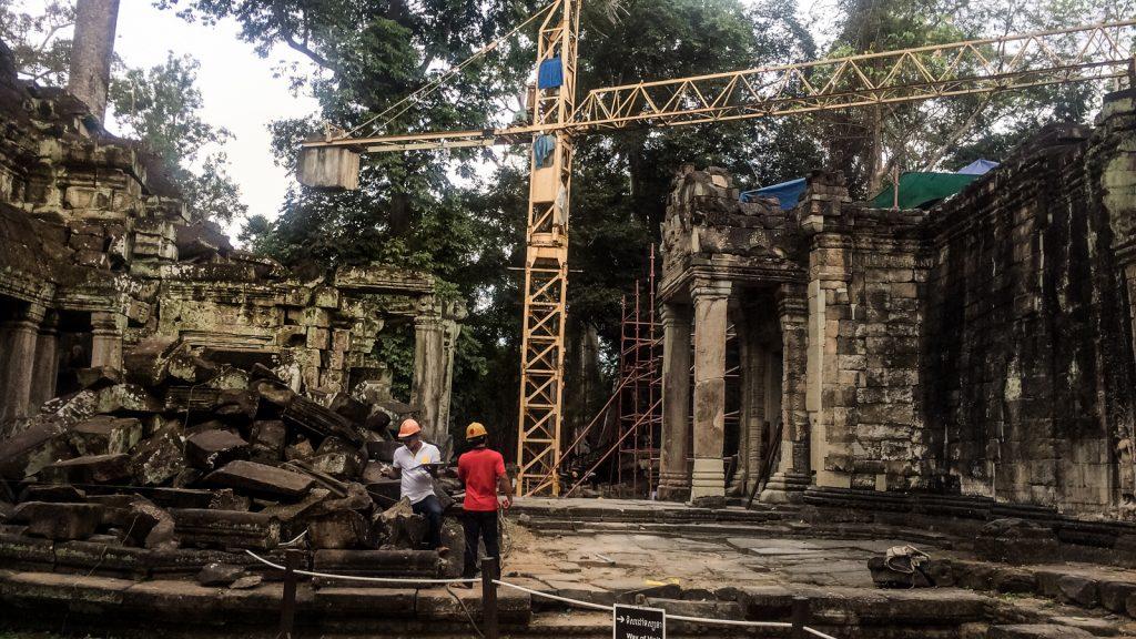 Reconstructing Ta Prohm, Cambodia