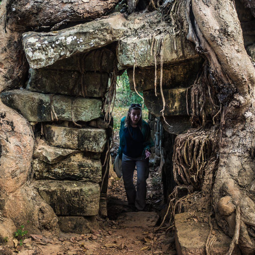 Tomb Raider. Angkor Thom, Cambodia