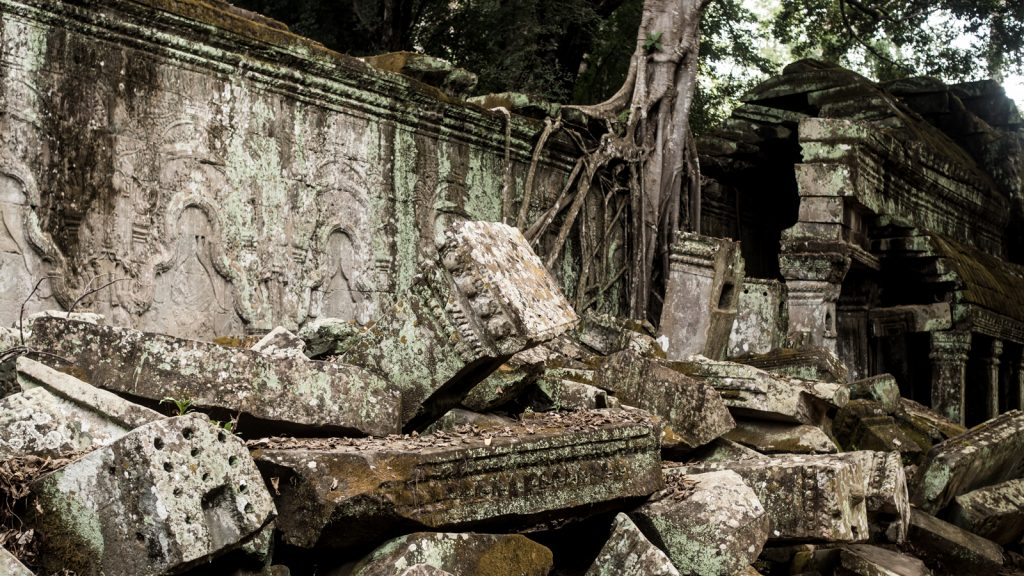 Ta Prohm, or 'Tomb Raider' as it's now referred to by many locals.