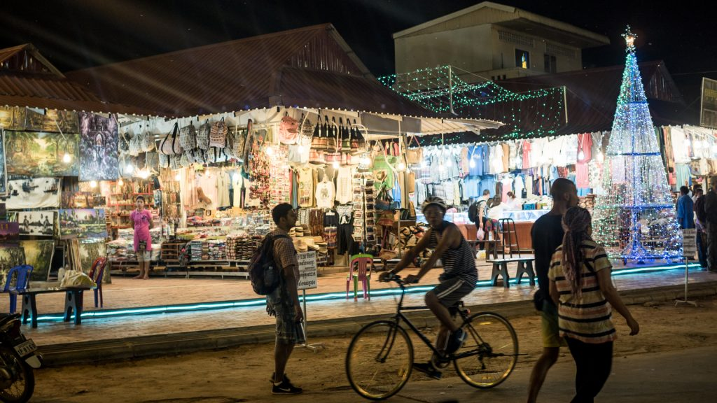 Night Market, Siem Reap, Cambodia